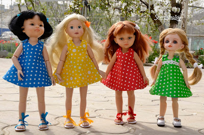 сарафан для куклы, паола рейна, paola reina, Джолина балерина