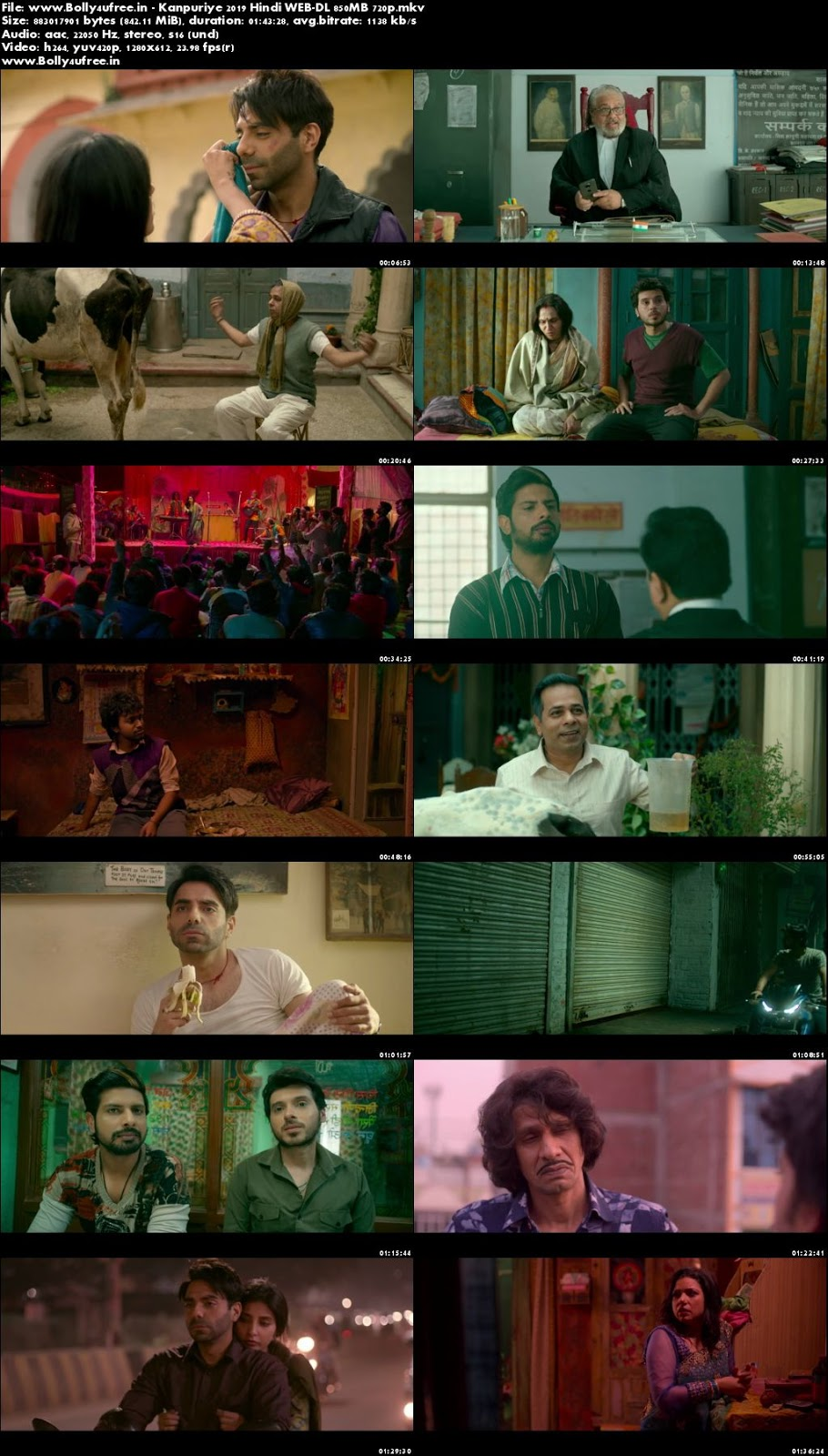 Kanpuriye 2019 Hindi Movie Download WEB-DL 850MB 720p