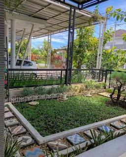 Taman minimalis by tukang taman surabaya