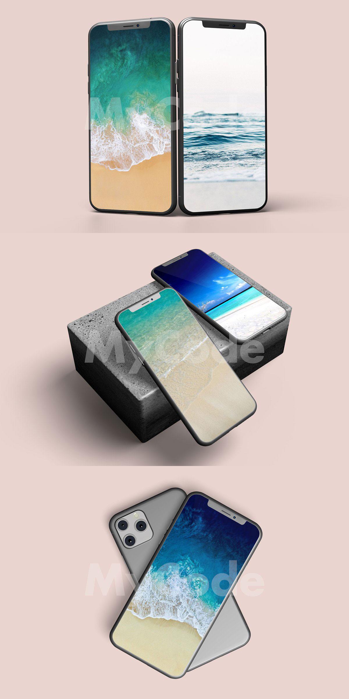CreativeMarket iPhone 11 Pro Mockup 4529534 Download Free