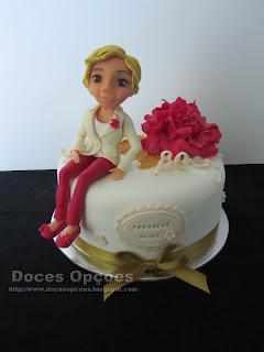 Bolo para o aniversário da Alice