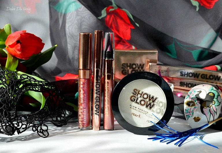 Nowość Avon Show Glow - kosmetyki do makijażu  prezentacja