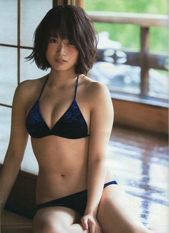 Tomonaga Mio 朝長美桜 HKT48, Ex-Taishu 2017.07 (EX大衆 2017年07月号)