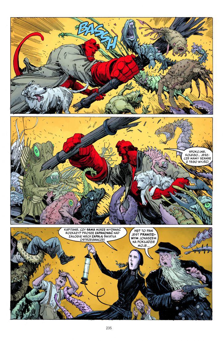Hellboy Opowieści przykładowa strona