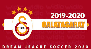 Galatasaray 2020 - DLS2020 Dream League Soccer 2020 Forma Kits ve Logo