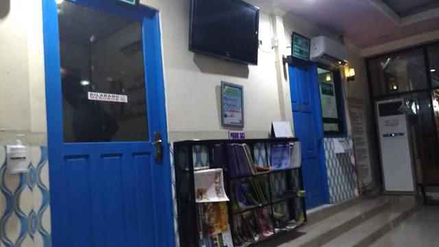 ruangan tes uji SIM