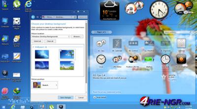 Windows 7 Aero Blue Lite Edition 2016