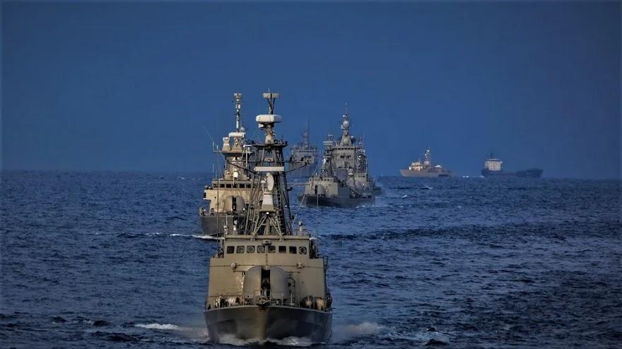 Εκνευρίστηκε η Τουρκία από τις ασκήσεις του Πολεμικού Ναυτικού