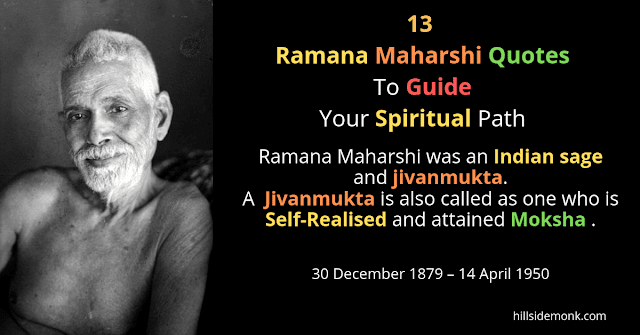 13 Ramana Maharshi Quotes To Guide Your Spiritual Journey