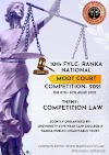 10TH FYLC RANKA NATIONAL MOOT COURT COMPETITION, 2021 - Online Edition (4th - 6th JUNE, 2021)
