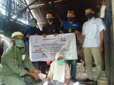 700 Lansia Aceh Terima Bansos Dari Kementerian Sosial