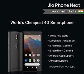 JioPhone Next Features Highlight