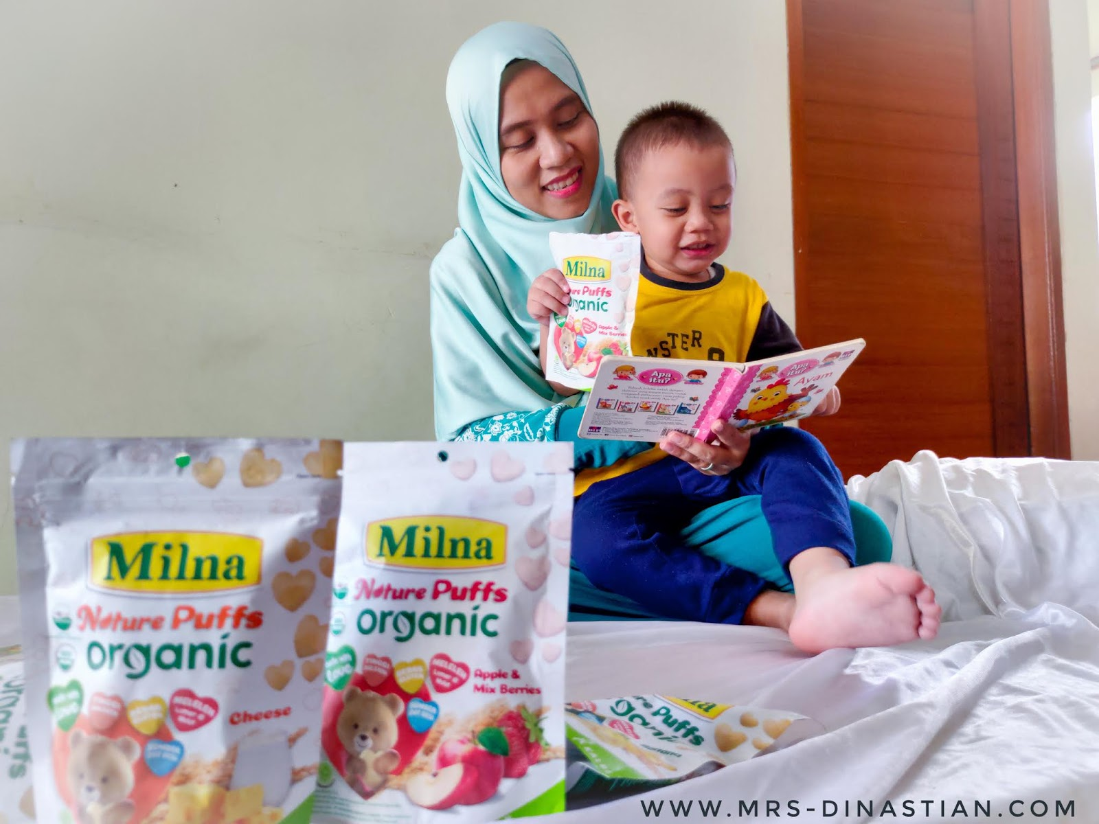 Milna Nature Puff Organic