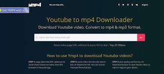 Convert YouTube ke mp4 Menggunakan Ymp4 - 1