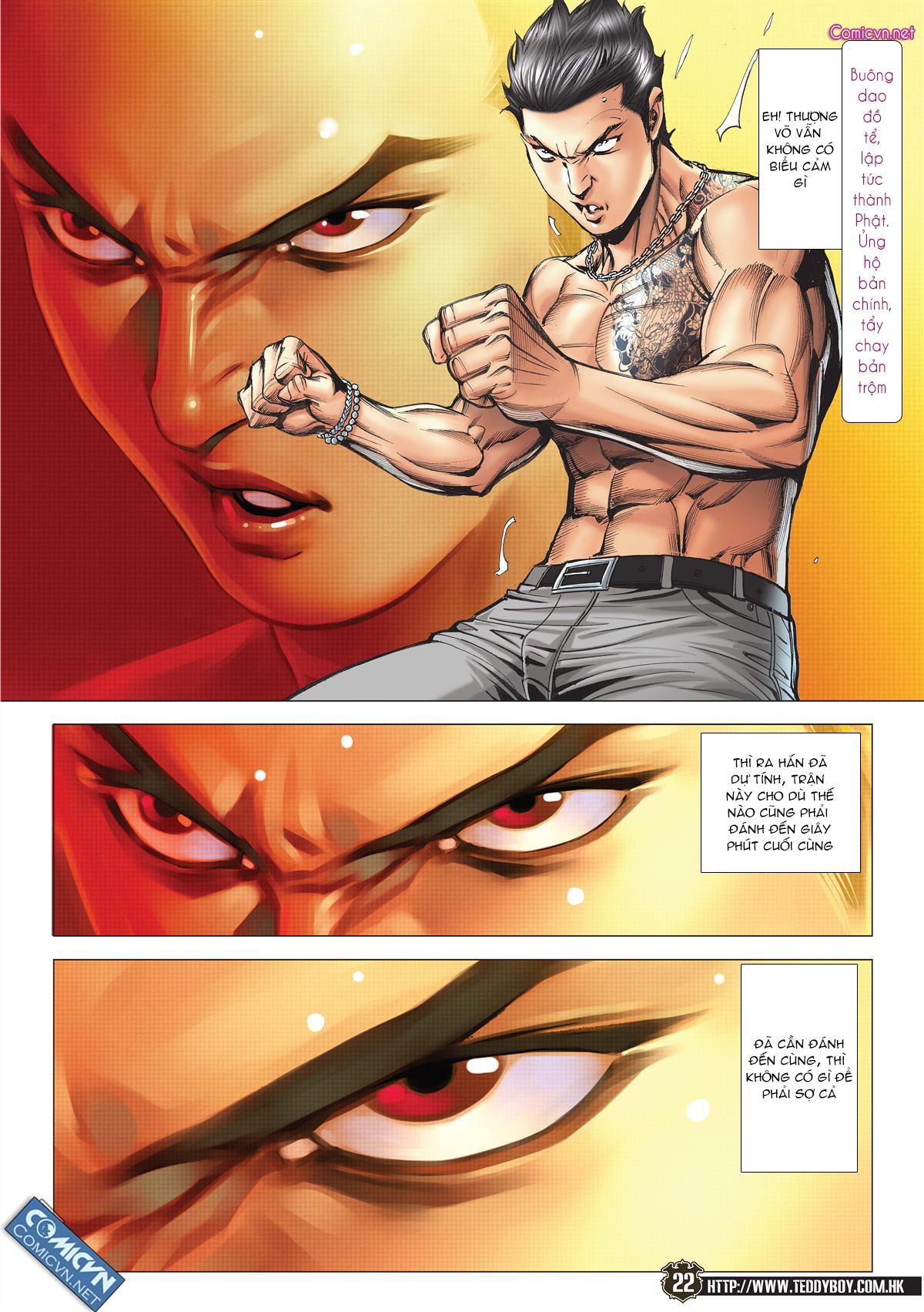 Người Trong Giang Hồ chapter 2143: ác chiến vua muay thai trang 20
