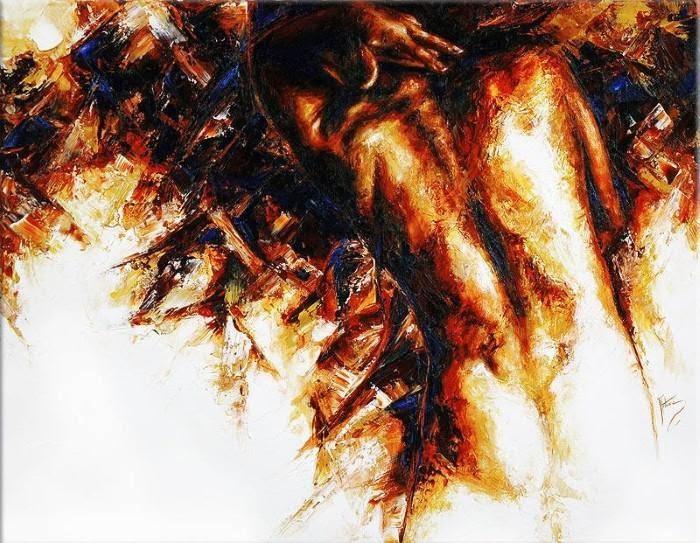 Южноафриканская художница. Antoine de Villiers