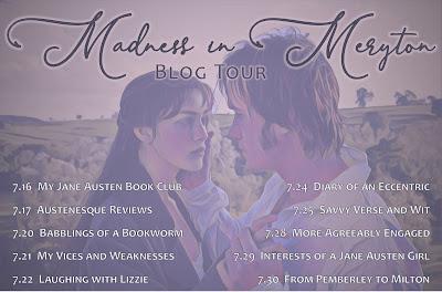 Blog Tour: Madness in Meryton by Jayne Bamber