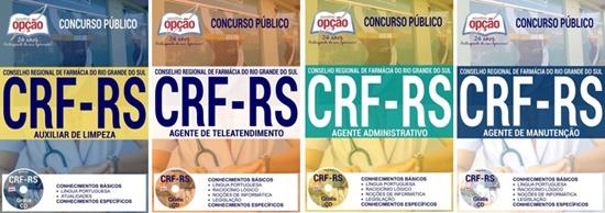 Apostila concurso CRF-RS 2017