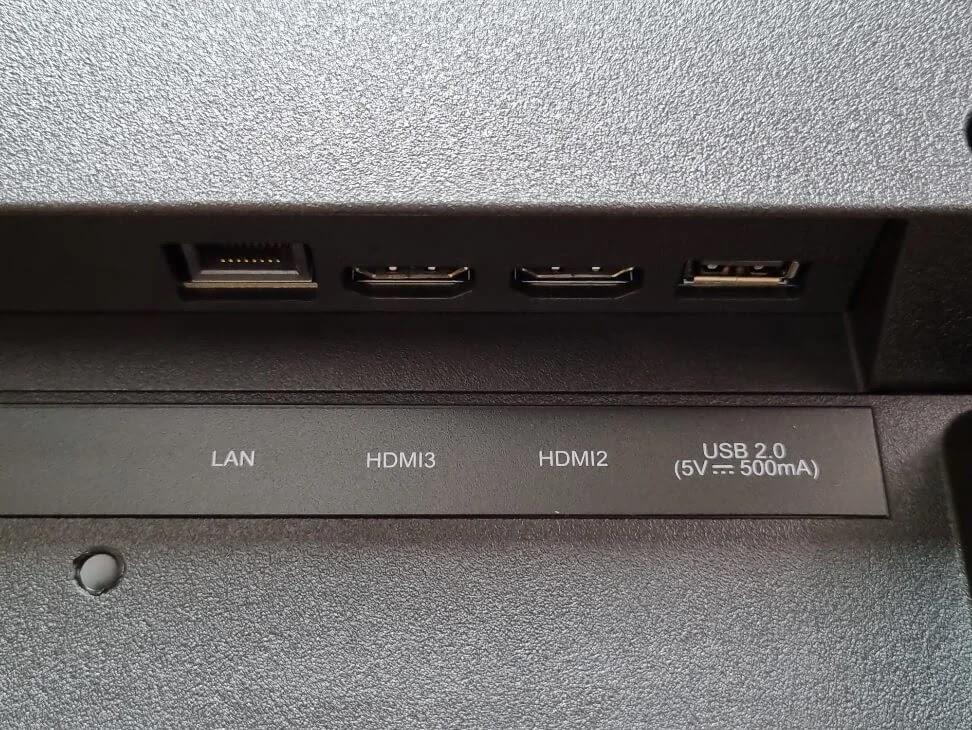 realme Smart TV Input Ports