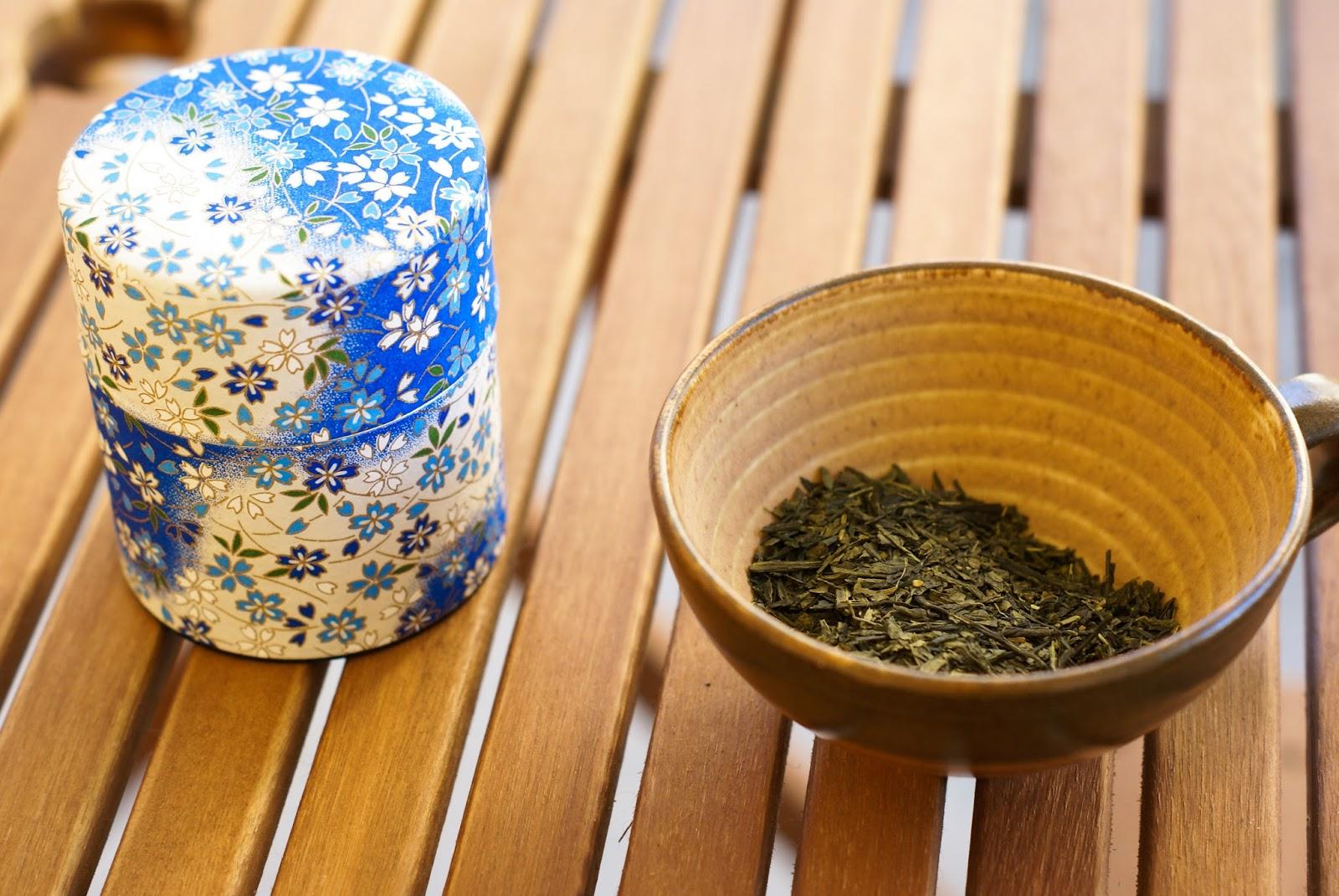 sencha boîte thé