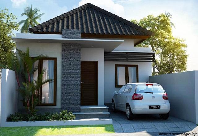 57 Gambar Rumah Minimalis Satu Lantai Dan Dua