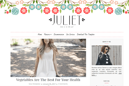 Free Download Juliet Blogger Template