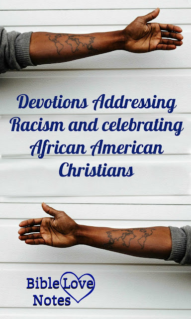 These devotions deal with the subject of racism from a biblical perspective.