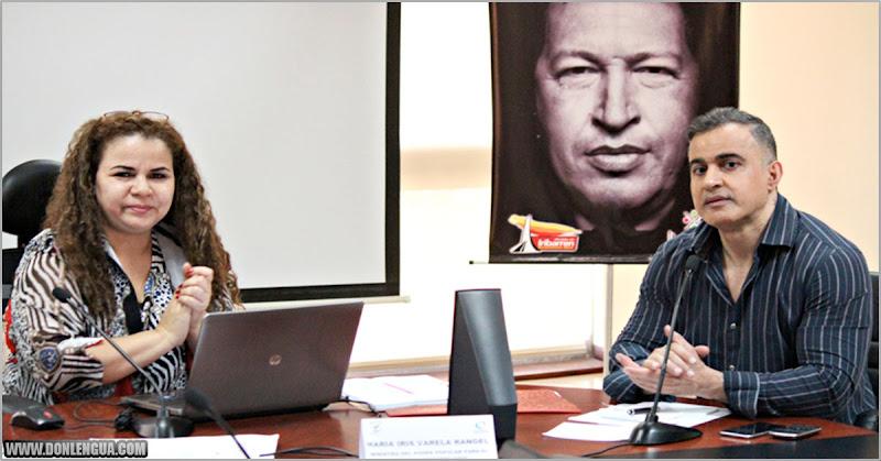 Iris Varela ordenó a Tarek William Saab a detener a 5 FAES que mataron a su escolta
