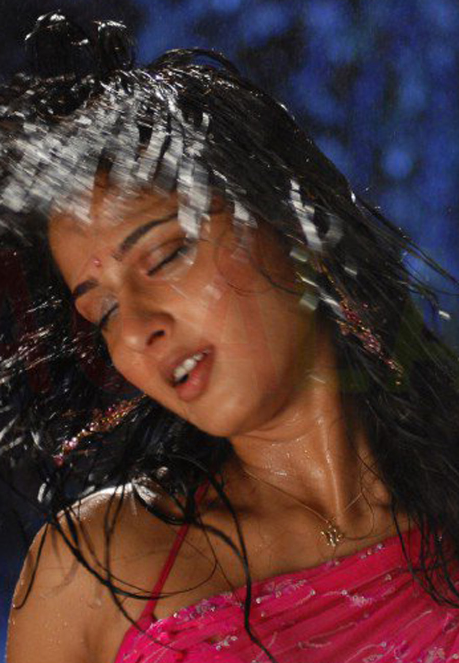 Anushka Shetty Hot Navel And Sleeveless In Pink Saree Latest Indian Hollywood Movies Updates Branding Online And Actress Gallery
