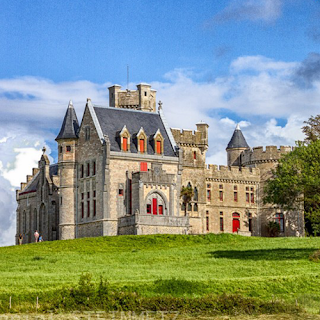 Le Château d'Abbadia. Source : Daniel Steinmetz