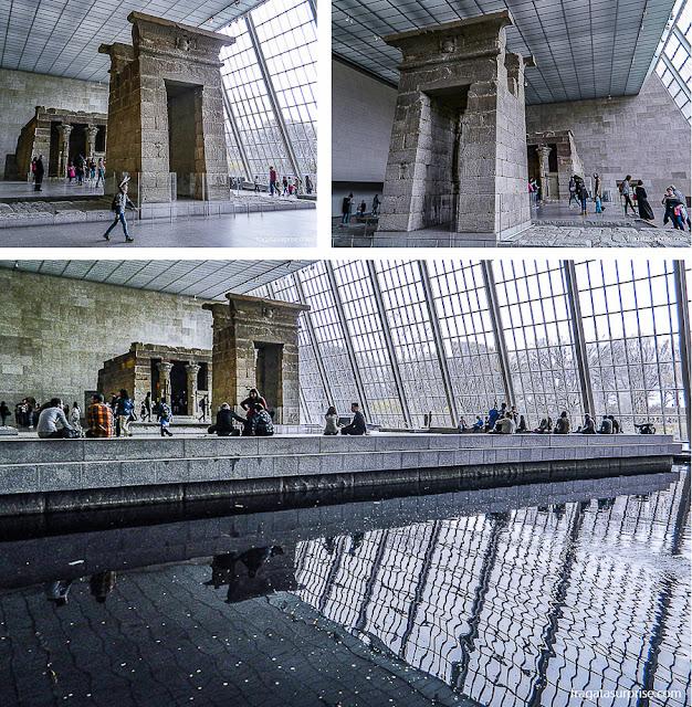 Nova York - Museu Metropolitan - Templo de Dendur