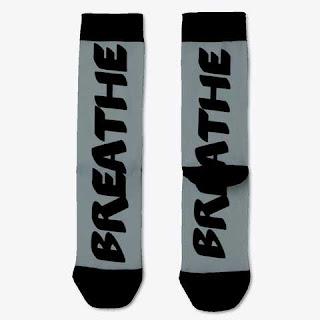 Breathe Socks Dark Grey