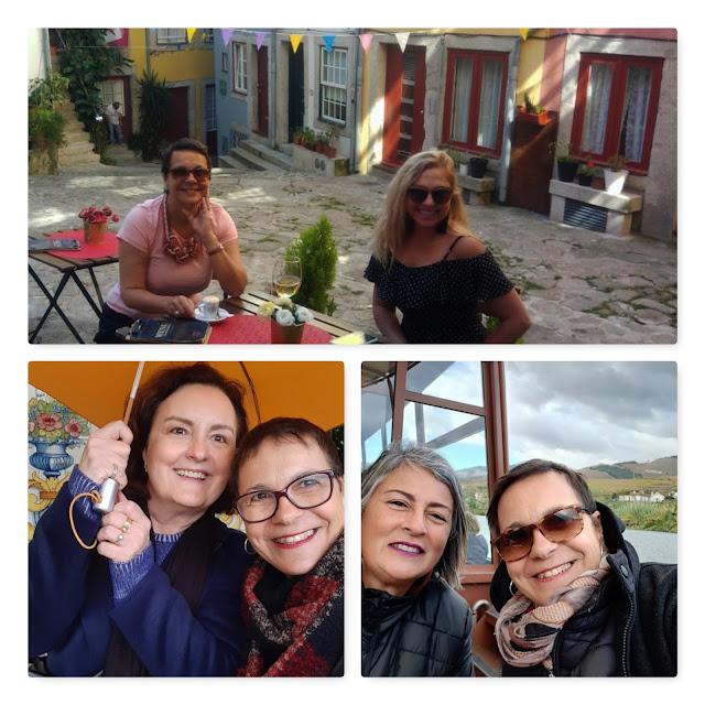 Guia brasileira no Porto com turistas brasileiras