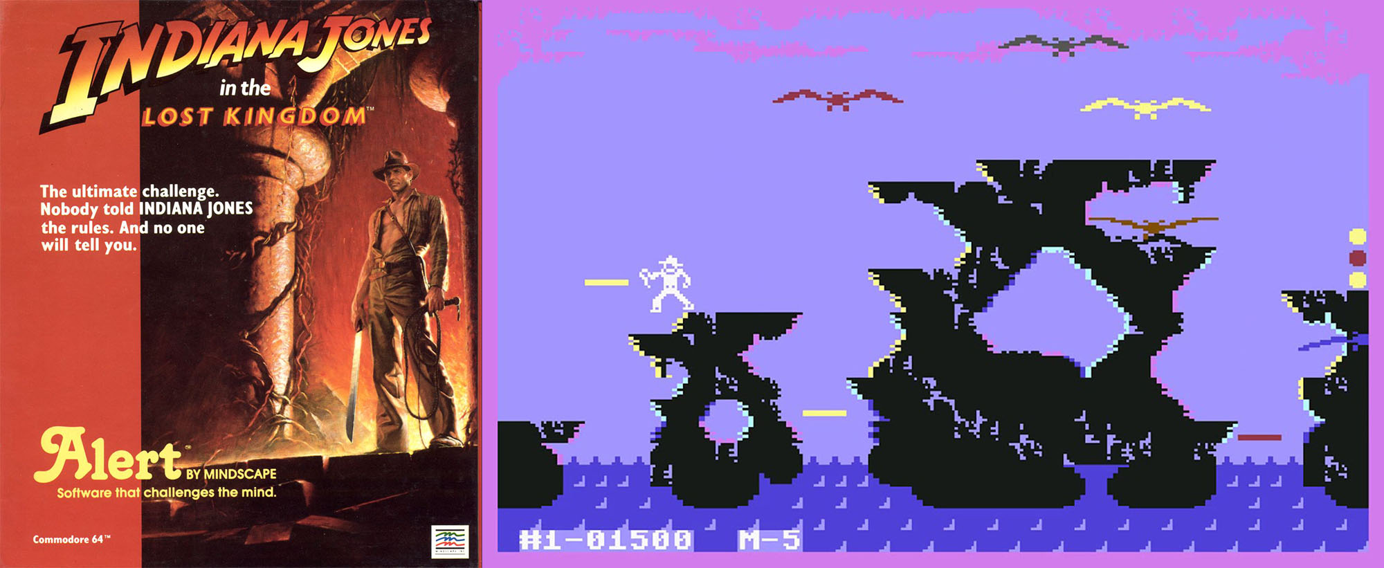 Indiana Jones in the Lost Kingdom Commodore 64