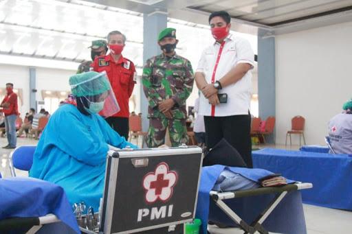 HUT ke-75 PMI: Chaidir Syam Ajak Masyarakat Maros Rutin Donor Darah