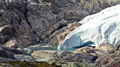 południowy jęzor lodowca Folgefonna