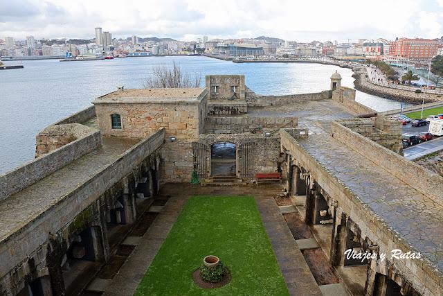 Castillo de San Antón de A Coruña
