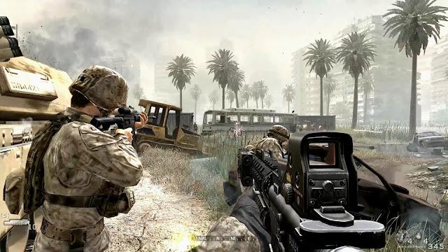 Call of Duty 4 - Modern Warfare Captura 3