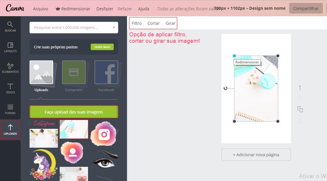 Como criar imagens perfeitas para o Pinterest em poucos minutos no Canva