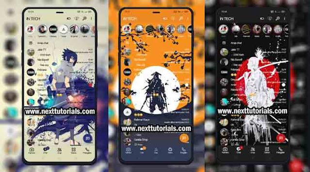 Kumpulan Tema WhatsApp Aero Keren by Samurai Jepang, Sasuke Terbaru 2021,wa aero ios terbaru 2021,download whatsapp mod anti banned,fouad wa anti expired,