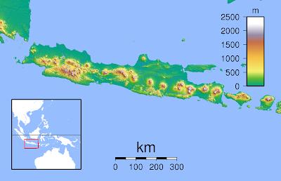 topografi gambar pulau jawa wisataarea.com