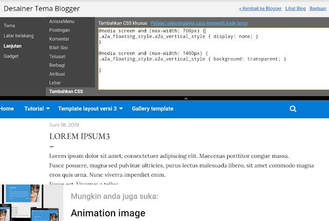 kotak dialog tambahkan CSS
