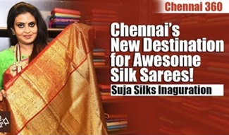 Chennai's New Destination for Awesome Silk Sarees! | Suja Silks Inauguration