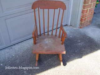 Rocking chair  http://jollettetc.blogspot.com