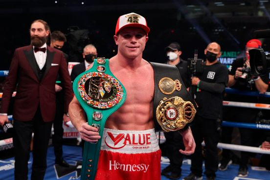 Con una sola pelea, Canelo está nominado a mejor boxeador del 2020