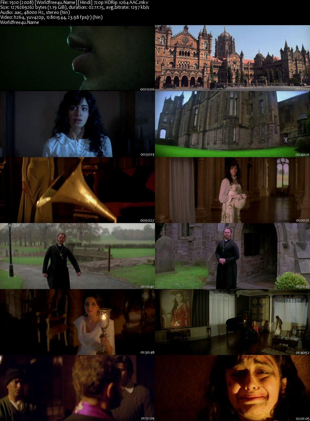 1920 (2008) Hindi HDRip 720p