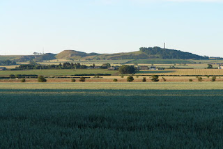 A view over the fields at Mungoswells