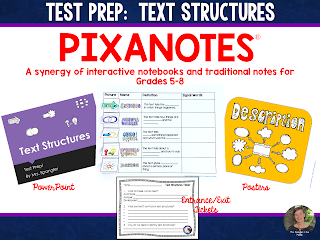 It's test prep time and here's an engaging non-fiction text structure lesson that's ready to go!
