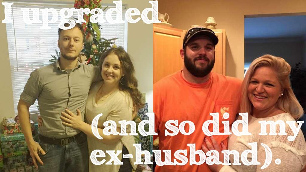 Basically Olivia: I upgraded (and so did my ex-husband)