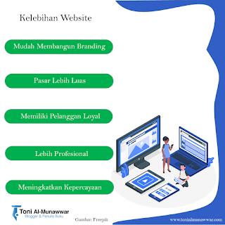 Kelebihan Website